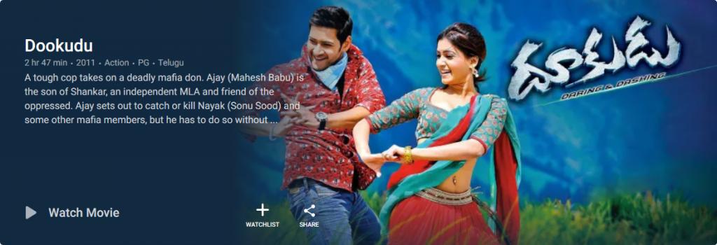 Hotstar Telugu tv series and movies