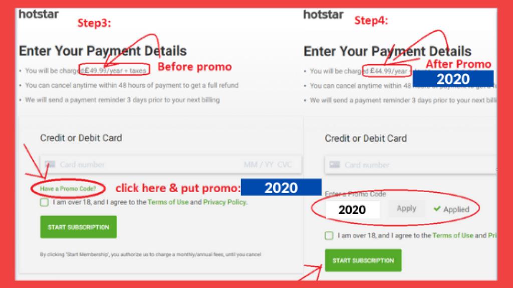 Hotstar UK Subscription | Hotstar UK Promo Code