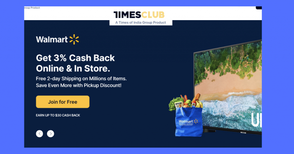 Times club Walmart