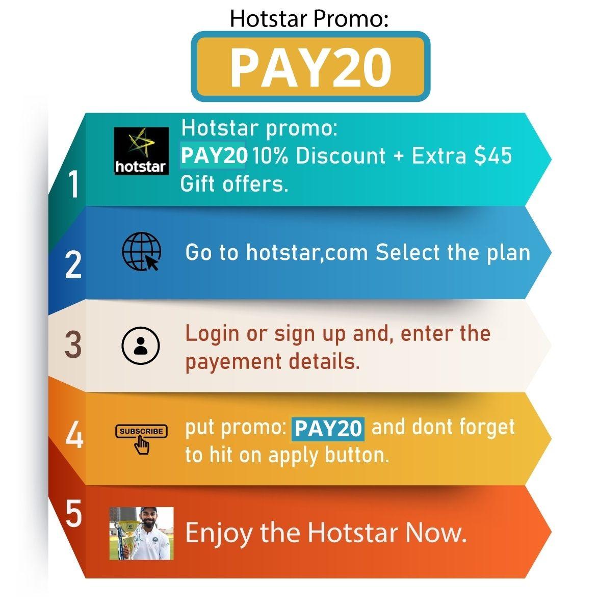 Hotstar Promo Code Canada