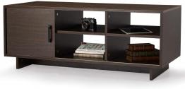 MELLCOM Mid-Century Modern TV Stand with Storage Shelf for $58.99