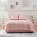 Bedsure Pink Comforter Set Queen 8 Pcs Pintuck Pink Bed Set for $29.19Bedsure Pink Comforter Set Queen 8 Pcs Pintuck Pink Bed Set for $29.19