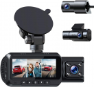 TOGUARD 3 Channel 4K Dash Cam for Cars