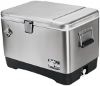 Igloo Stainless steel cooler (51L) # 44669, 54 quart